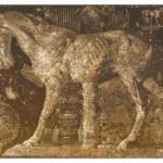 Horse sculpture. Painting by creative Belarusian studio Tsesler&Voichenko