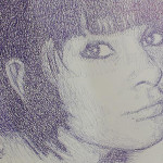 Girl's portrait. 2010