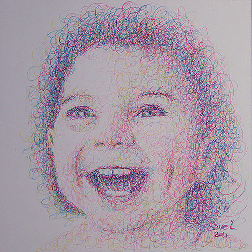 Laughing child. 2011
