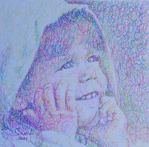 A baby. 2011 portrait