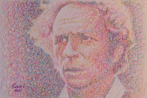 Pierre Richard, portrait, 2010