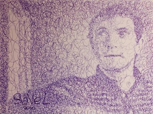 Self-portrait. one of the duo – Sergey Savelyev