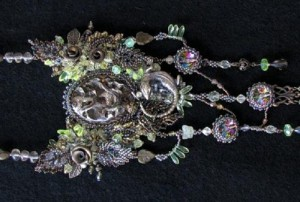 Pendant with Geodes