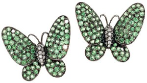 Butterfly earrings/clips