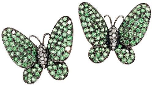Butterfly earrings/clips