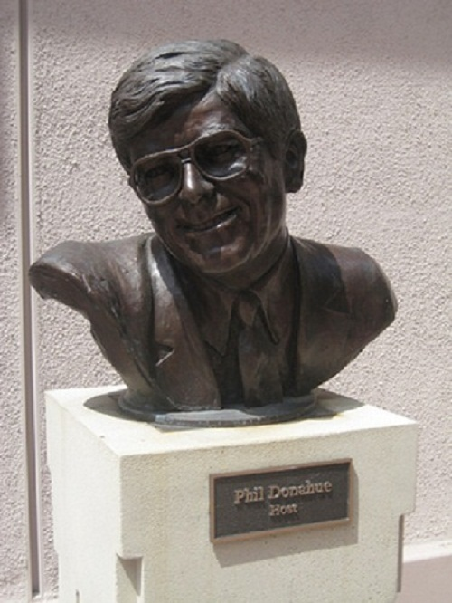 Phil Donahue - writer, film producer, creator and host of The Phil Donahue Show