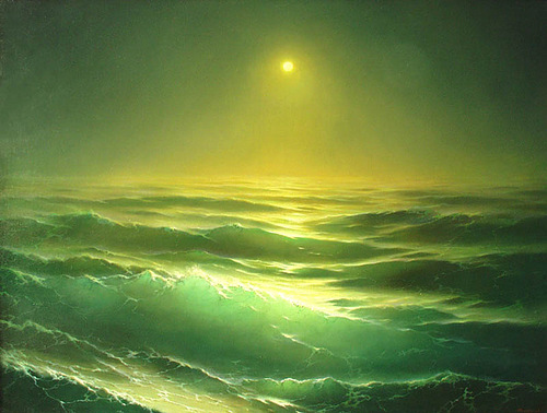 Realistic seascapes by Russian artist Georgy Dmitriev