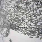 Closeup. Staple art by Baptiste Debombourg