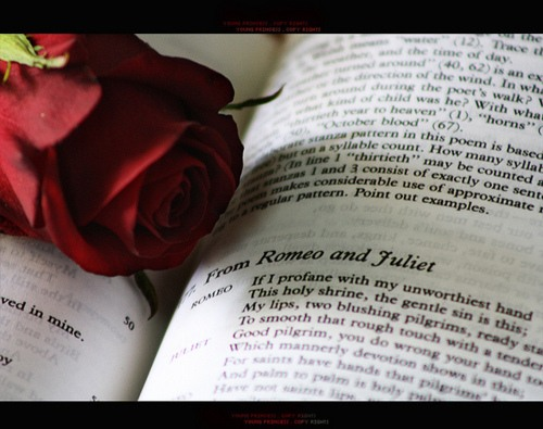 Pages from Romeo and Juliet