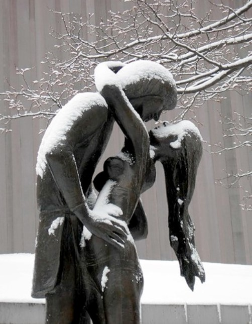Statue in Central Park, New York, NY
