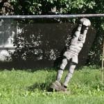 Goalkeeper monument