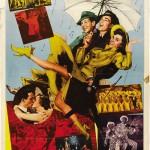Vintage film poster. Singin' in the Rain, 1952