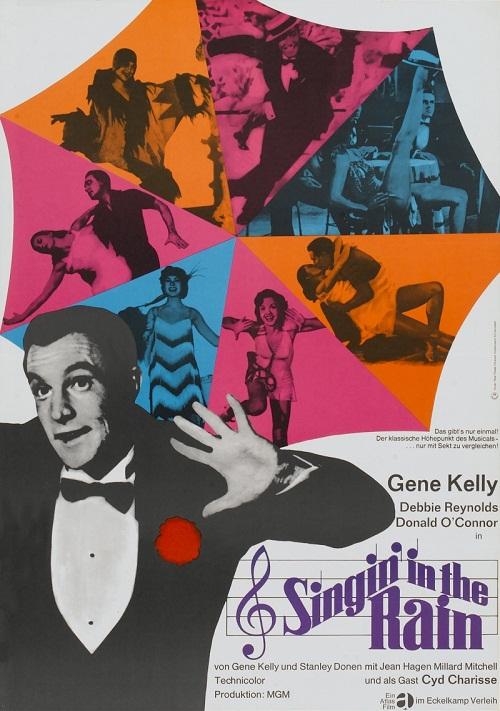 Gene Kelly, Debbie Reynolds and Donald O'Connor 'Singin' in the rain'