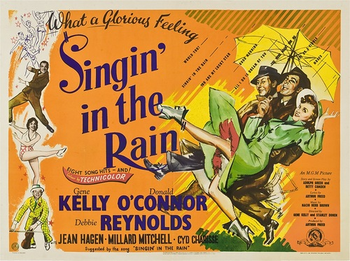 What a glorious feeling – Singin' in the Rain, 1952 poster