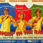 Fantastic on big screen, 2000 release of Singin' in the Rain, 1952