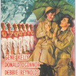 Beautiful vintage poster Singin' in the Rain, 1952