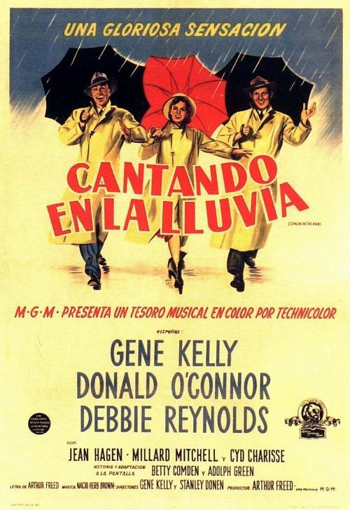 MGM presents… Italian poster Singin' in the Rain, 1952