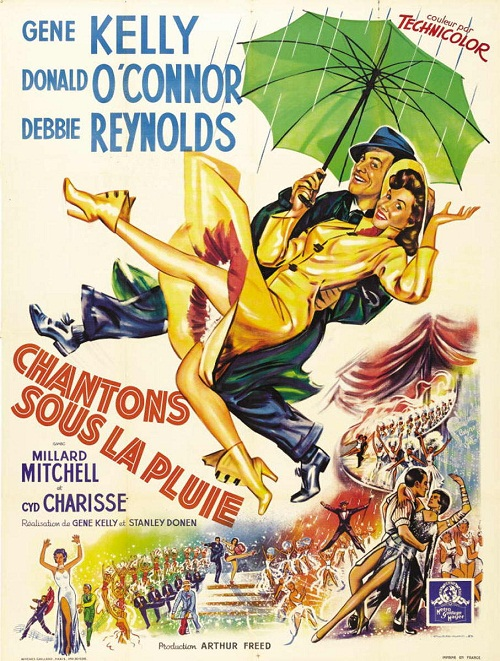 1952 musical comedy film, directed by Gene Kelly and Stanley Donen