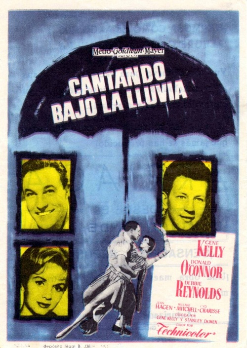 Musical comedy film directed by Gene Kelly and Stanley Donen