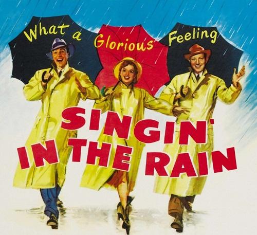 Hollywood film Singin' in the Rain, 1952