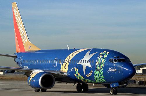 Southwest Nevada Aircraft graffiti