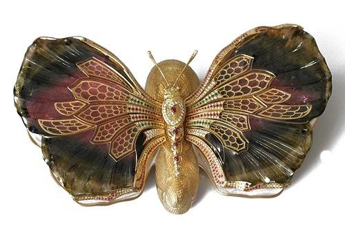 Splendide boite papillion par asprey