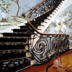 Stairs designed by William Diamond and Anthony Baratta