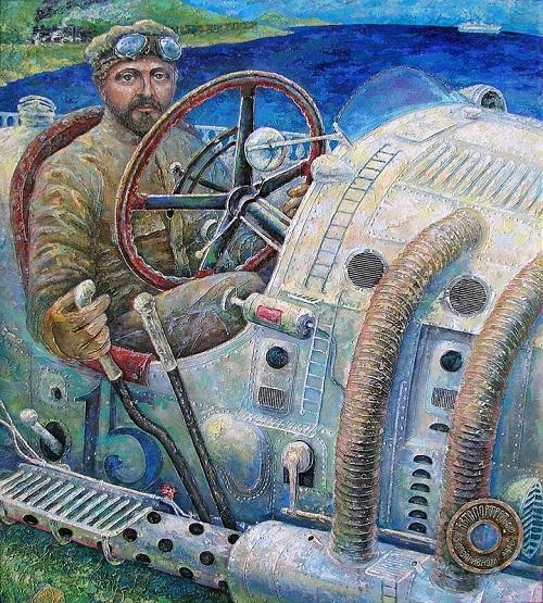 Steam punk art by Russian artist Alexey Stroganov