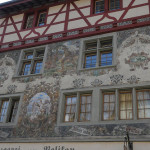 Amazing house art in Stein am Rhein, Switzerland