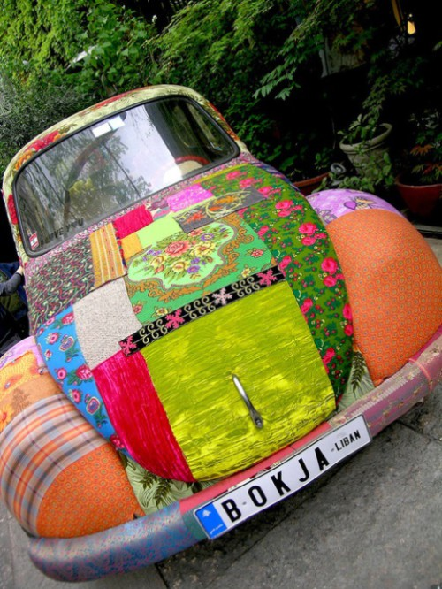 Textile Decorated by creative duo from Lebanon - Bokja