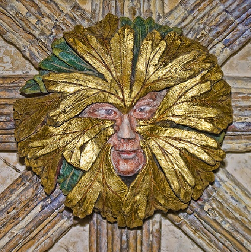 The Green Man, cathedral in Norway