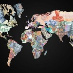 The World Map Made from Money