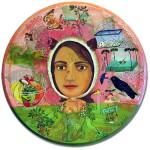 The good wife, painting by Irene Hardwicke Olivieri