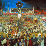 Artist historian and philosopher Ilya Glazunov