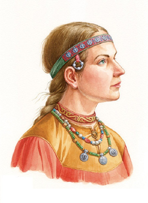 The reconstruction of the costume and jewelry of a girl from Yaroslavl, late XII – early XIII centuries. On materials of the Institute of Archaeology excavation of Russian Sciences Academy
