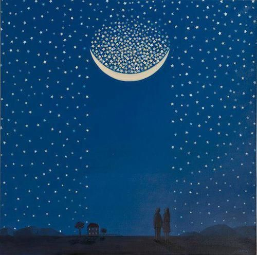 There they stand, the innumerable stars, shining in order like a living hymn, written in light. N.P. Willis