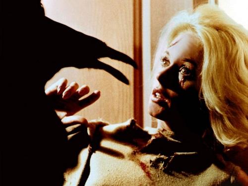 Scene from the thriller, Tippi Hedren