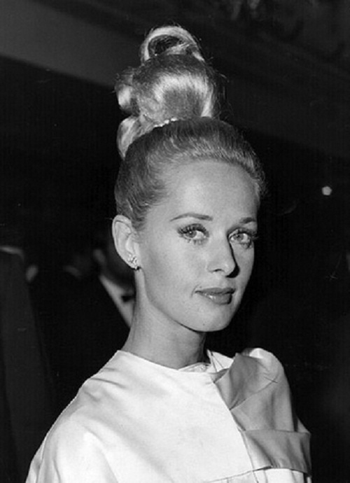 One of the most beautiful actresses of the time, Tippi Hedren