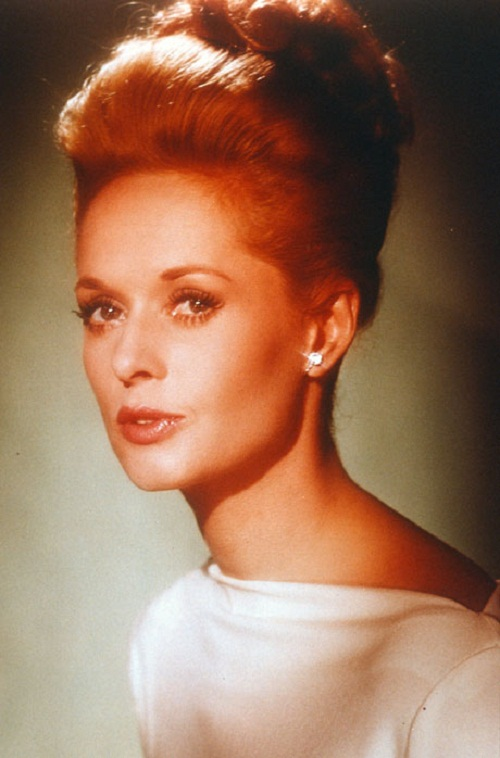 Animal right activist, actress and model Tippi Hedren