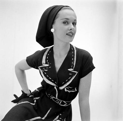 Successful model Tippi Hedren