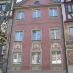 The facade of the house – beautifully painted