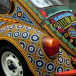 Volkswagen, bead decorated