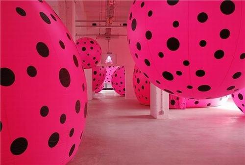 Pink installation