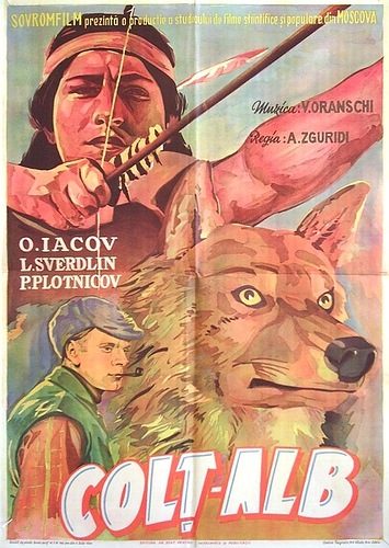 """White Fang"" 1946 movie poster"