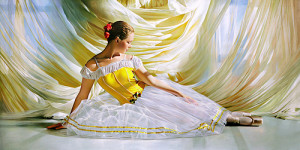 Hyperrealistic paintings by Russian artist Alexander Sheversky