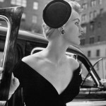 1953 photo of blonde model. Photographer Nina Leen