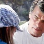 Scene from the movie, Italian actor Michele Placido