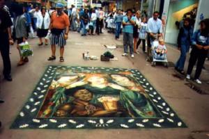 Pre raphaelites painting. Dante Gabriel Rossetti, 'The Beloved ('The Bride')', Beautiful street art by English freelance artist Julian Beever
