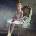 Ballerina. Anastasia Bezrukova, beautiful Russian 8-year-old model
