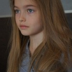 Gorgeous Anastasia Bezrukova, Russian 8-year-old model